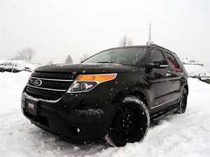 2015 Ford Explorer Limited + 7 PASSAGERS + 4X4 + GARANTIE + LOOK