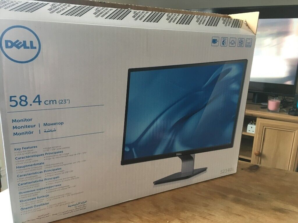 [x2] 23'' LED Dell Monitor - 1080p IPS Panel (S2340L) | in Putney, London |  Gumtree