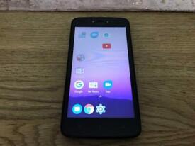 Motorola smart phone 16gb locked to O2 and giff gaff Network