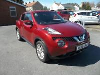 Nissan Juke 1.5 dCi Acenta Premium 5dr (force red) 2015