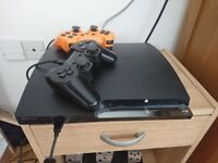 Sony PS 3 Playstation 3 320gb + 2 pads + 10 games