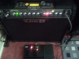 Line 6 spider jam 75 watt amplifier