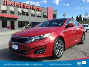 2015 Kia Optima SX Turbo w/ NAV, leather, roof