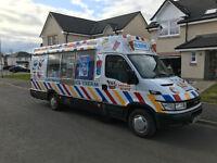 Iveco Soft Ice Cream Van