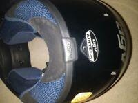 AGV air tech motorbike helmet AS NEW large