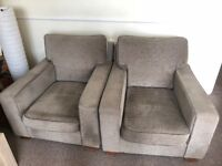 Two very comfy arm chairs