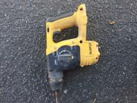 Dewalt drill and Hoover