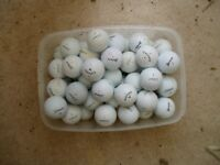 50+ used golf balls for sale £10