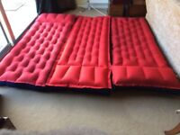 Three single air beds in very good condition.