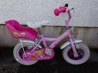 """Girls' 12"""" Apollo Cupcake bike"""