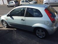 Ford Fiesta Flame, 2004, 1.4 petrol, £1200 ono, LOW MILEAGE, LONG MOT, 2 OWNERS FROM NEW