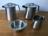 Olde Hall Vintage Oriana Tea Pot and Accessories