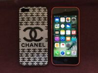 iPhone 5c(EE, BT, Virgin, TMobile, ASDA|14 Day Guarantee|8GB|Deliver+Post|Apple|Pink) |