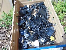 Box Of Power Adaptors