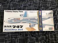 Revell Boeing 747 model