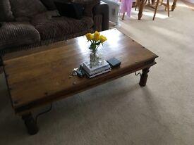 Rosewood Coffee Table - Maharaja Style