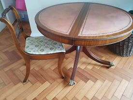 vintage dining table & chairs - SE1