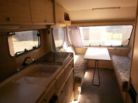 4-berth touring caravan as a project