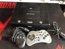 Good Condition Sega Saturn for Sale