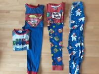 Bundle of Boy's Pyjamas aged 5 - 6 Years