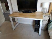 Office Desk - 120cm long, 60cm wide, 74cm tall - surplus to requirements