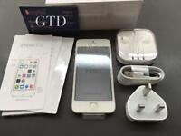 Unlocked brand new condition iPhone 5S 16GB grey with accessories
