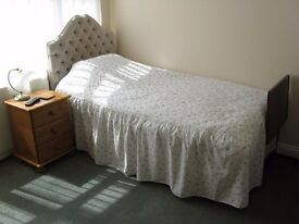 Mon to Fri en suite single bedroom, room only basis own entrance rural 8mls Bristol Airport