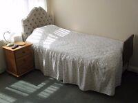 Mon to Fri en suite single bedroom, room only basis own entrance rural 8mls Bristol Airport