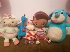 Doc mcstuffins teddy set