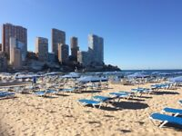 BENIDORM 1 line by the sea very good location for couples or seniors