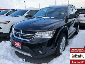 2017 Dodge Journey GT**7 PASSENGER**LEATHER**NAV**BACK UP CAM**