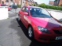 Mazda 3 in very good condition, low mileage and 11 months MOT.