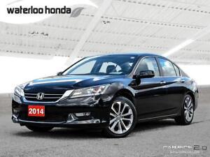 2014 Honda Accord Sport Bluetooth, Back Up Camera, Heated Sea...