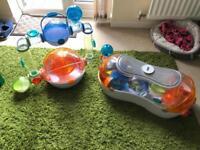 Habitrail Ovo Hamster Home's + Accessorises