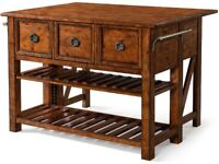Klaussner Raleigh Kitchen Island with Gate Leg Extension