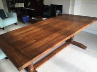 Solid Indian Rosewood 6 seater dining table (John Lewis)