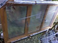 Double glazed window, brand new still in packaging (length 1m 765mm - height 1m 50mm)