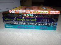 Guinness World Records and Ripleys book bundle