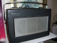 Antique Vintage Radio HACKER SOVERIGN II Black Good Clean Condition Fully Working deliver Manchester