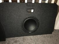 boot built, Sub, amp And infinity 6x9's