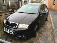 Skoda Fabia VRS, Great condition, 50mpgs +