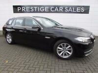 BMW 5 SERIES 2.0 520D SE TOURING 5d 181 BHP (black) 2013