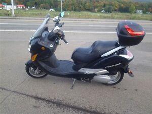2009 Hyosung Motors America MS3250