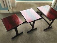 Three set coffee table