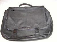 FONOINI SIMULATED LEATHER EXPANDABLE BRIEF CASE