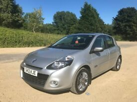 **RENAULT CLIO DYNAMIQUE TOMTOM ONLY 46,000 MILES FULLY LOADED PAN ROOF**