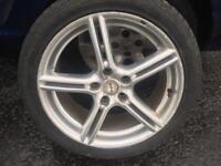 4x 17 inch fox wheels