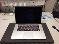 """MacBook Pro 15""""; 512GB SSD; 2.5GHz Quad-Core i7; 16GB RAM"""