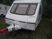 4 Berth Swift Challenger with Awning with Double Annexe & loads of Extras L shape lounge **2000**