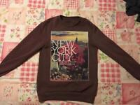 2 Men's New York Graphic Jumpers